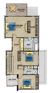 Villa 1 First Floor